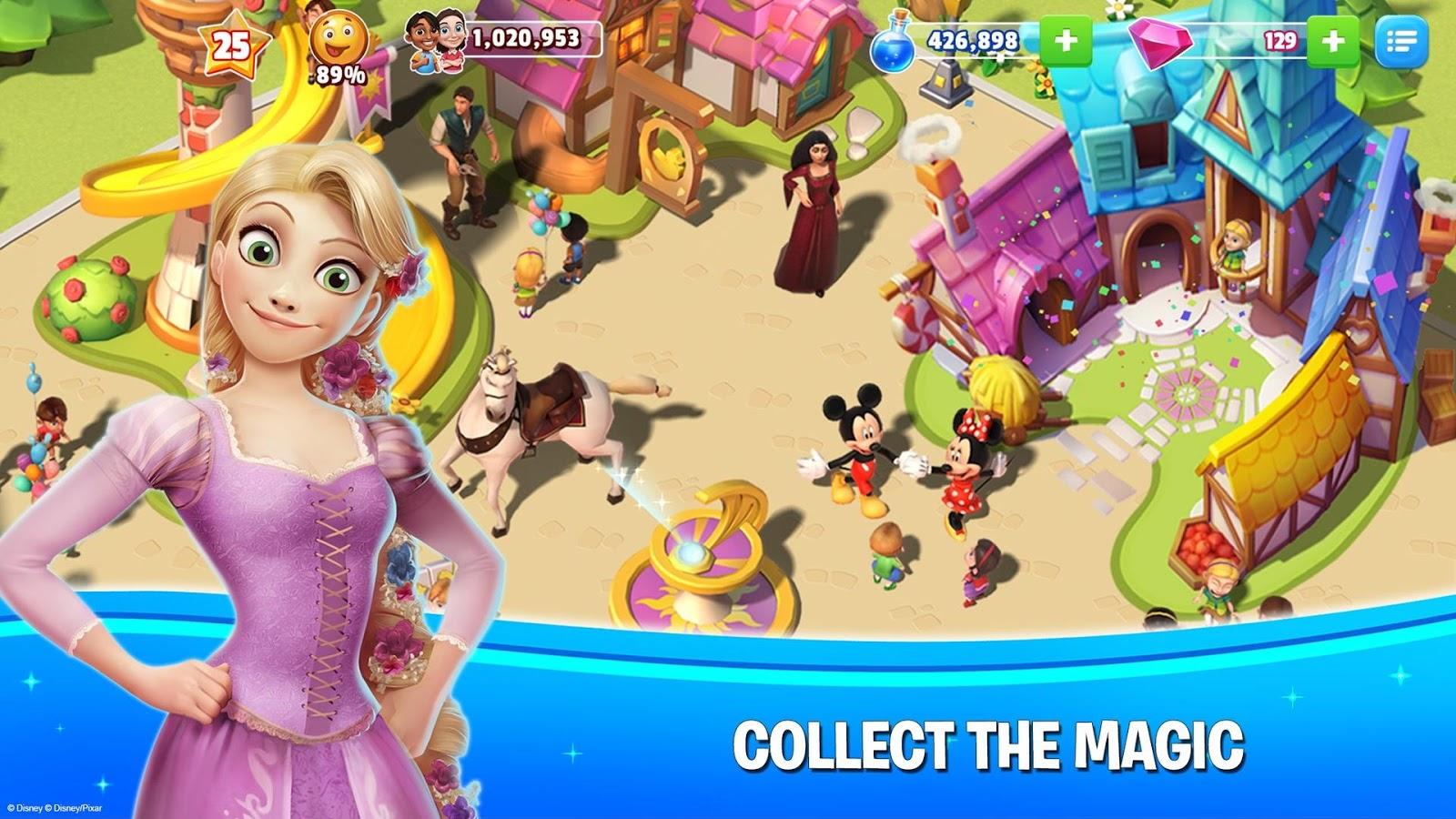 Disney Magic Kingdoms Build Your Own Magical Park 2 5 1c Apk Download Android Simulation Games