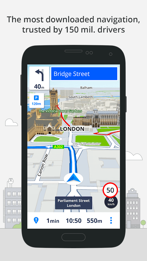 GPS Navigation & Maps Sygic 17.2.2 APK Download - Android ...