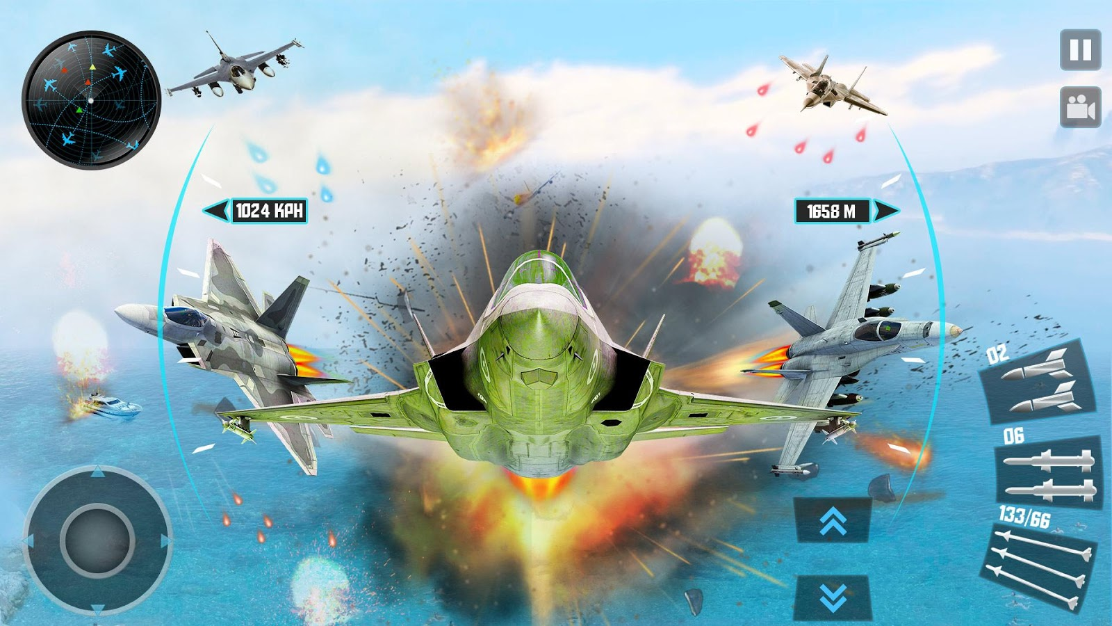 Jet Fighter Plane 3D – Air Sky Fighter Sim 2017 1 1 APK