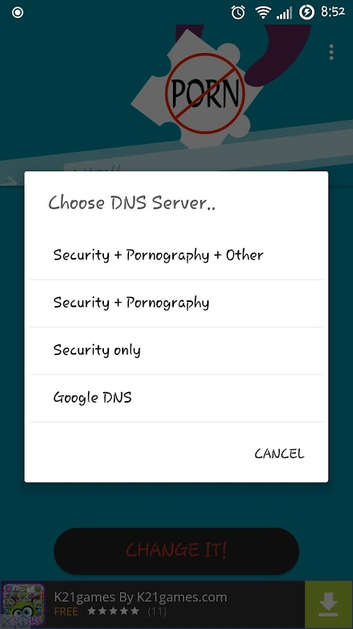Anti Porn & Security DNS 1 2 0 APK Download - Android Tools Apps
