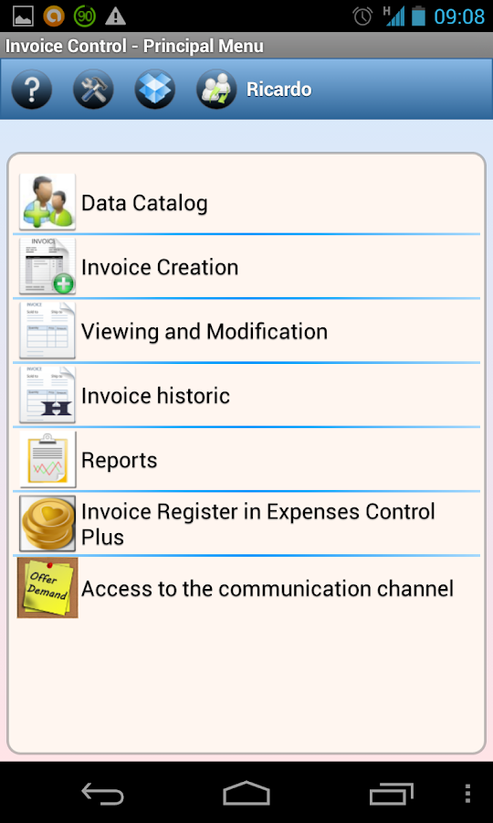 Invoicing In Sap Pdf Invoice Control  Apk Download  Android Finance Apps Scan Invoice Excel with Stores That Accept Returns Without A Receipt Invoice Control  Screenshot   Pay Fedex Invoice Pdf
