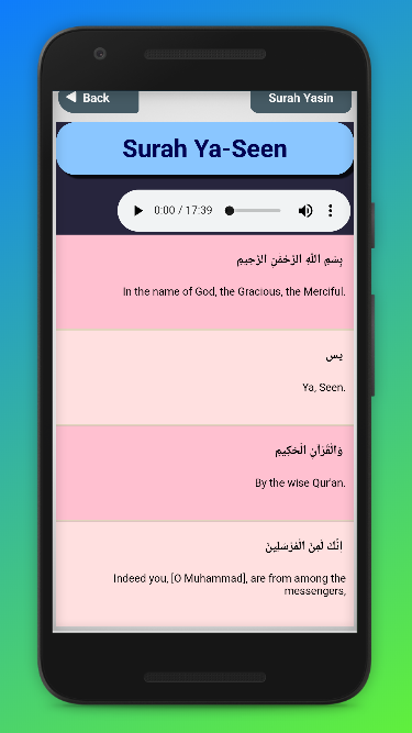 Surah Yasin Ar-Rahman Ayatul Kursi mp3 Audio 1 0 APK