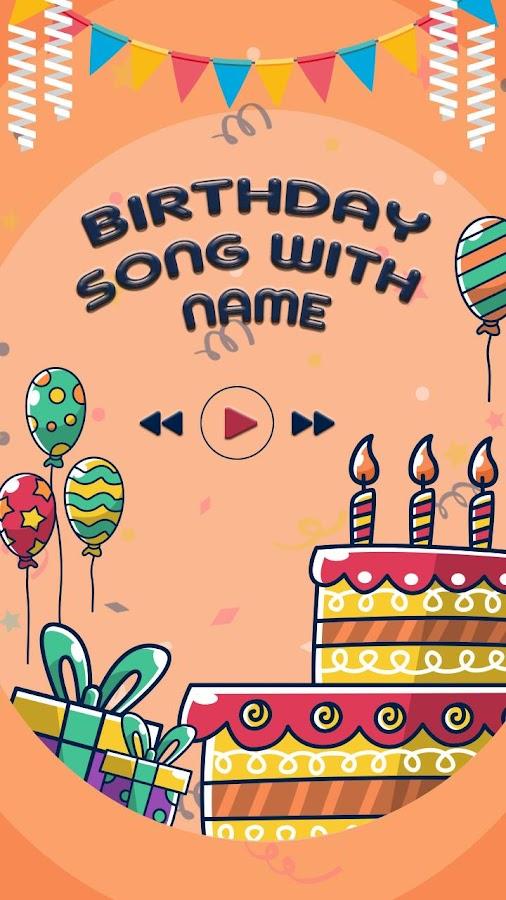 دانلود Birthday Song with Name 1 2 APK - برنامه های صدا و موسیقی