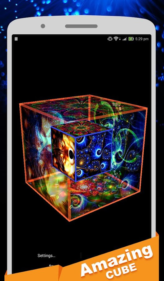 Amazing Cube Amazing Cube Lwp Pro 2.1 Apk Download  Android Personalization Apps