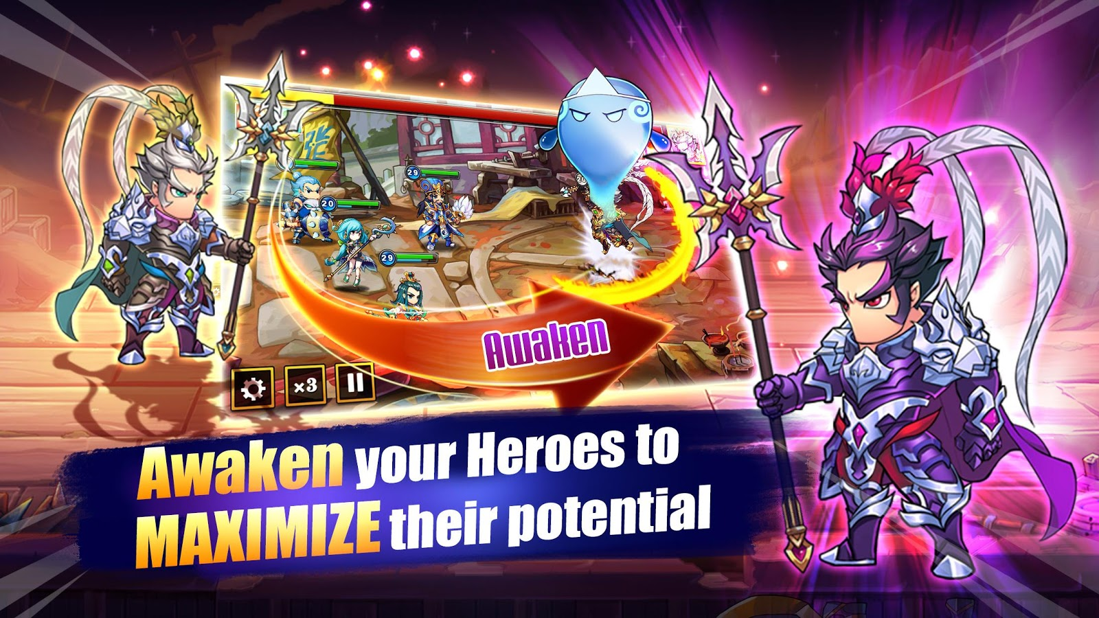 Pocket Summoners 1.856.0 APK Download - Android Role Playing Games