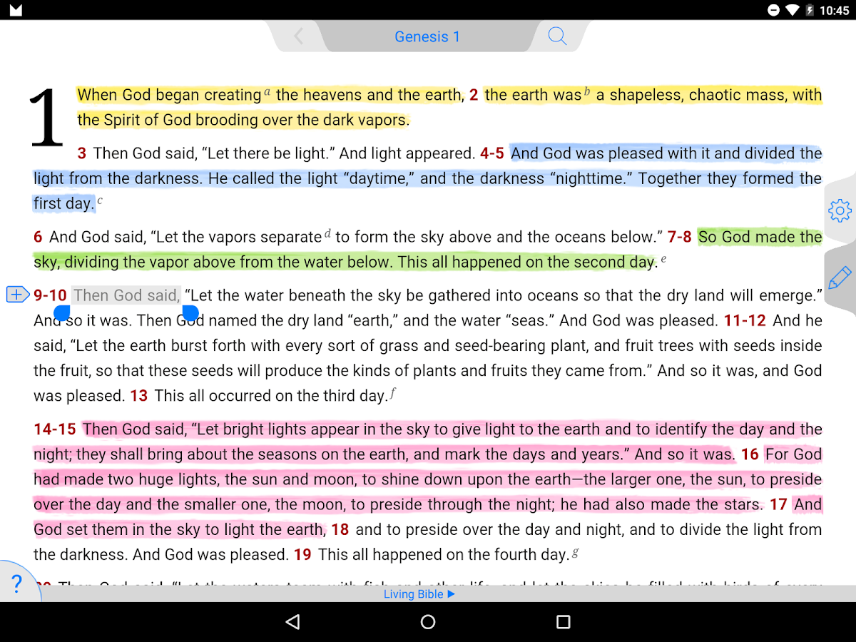 Living Bible 7 15 7 APK Download - Android Books & Reference