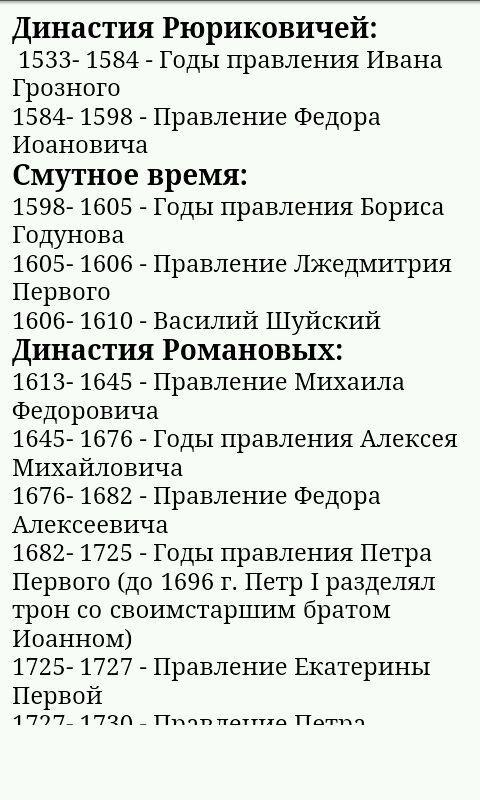 Даты и события в истории беларусь