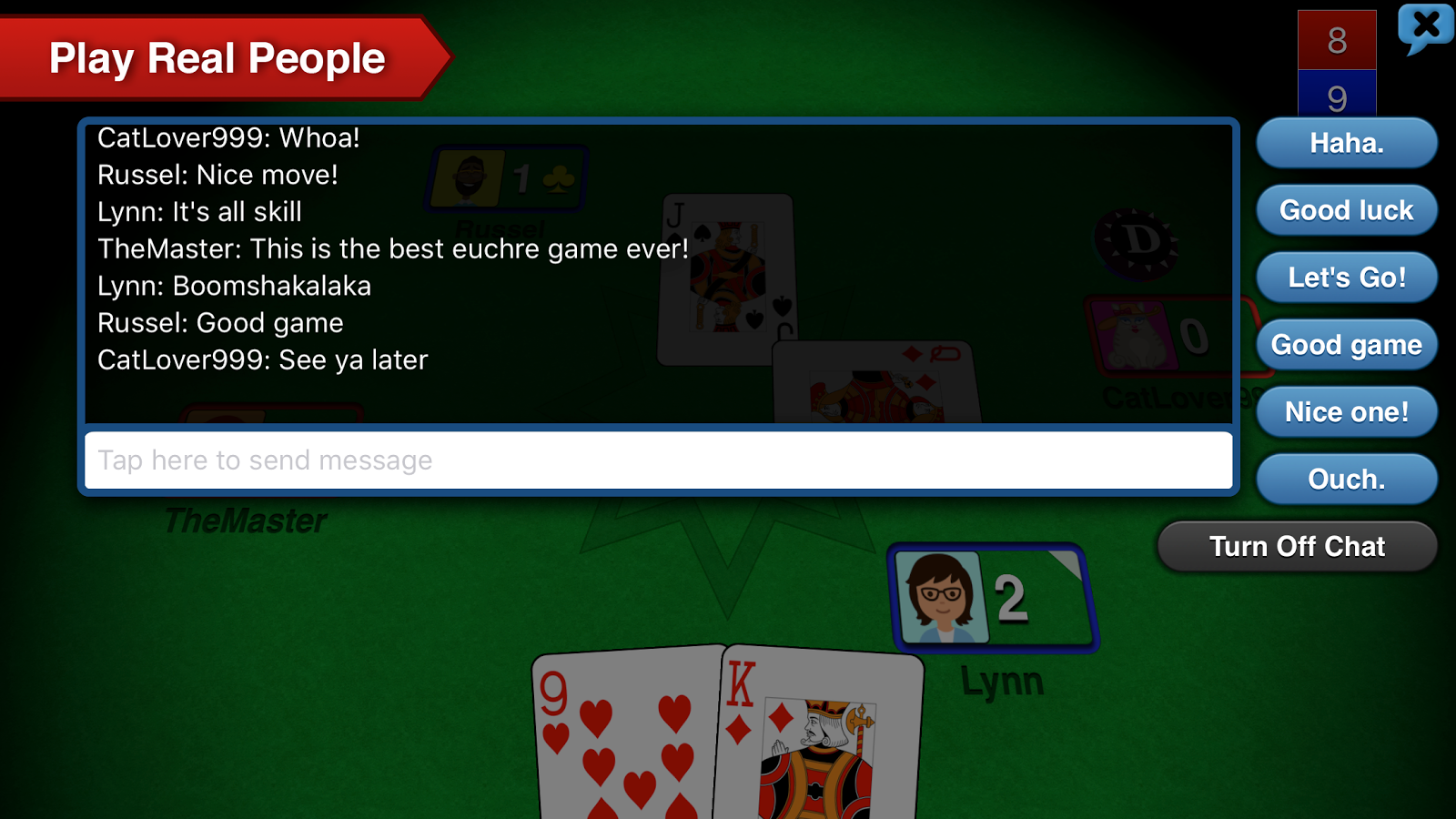 euchre 3d 4 4 apk download android card games