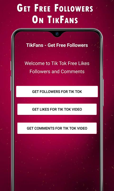 TikFans - Get Free Followers 1 3 APK Download - Android