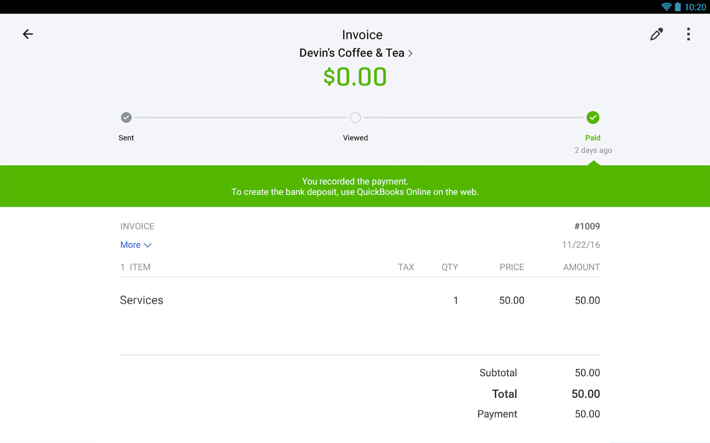 Invoice For Purchase Order Quickbooks Accountinginvoice  Apk Download  Android  Independent Contractor Invoice Sample Word with Consultant Invoice  Quickbooks Accountinginvoice  Screenshot   Neat Receipts Desktop Scanner