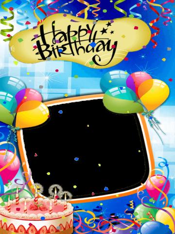 Birthday Card Photo Editor 102 Screenshot 1