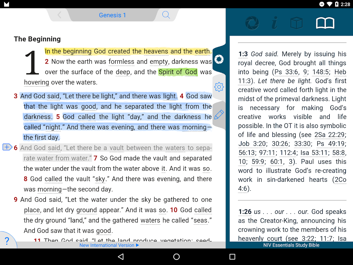 NIV Essentials Study Bible 7 15 5 APK Download - Android