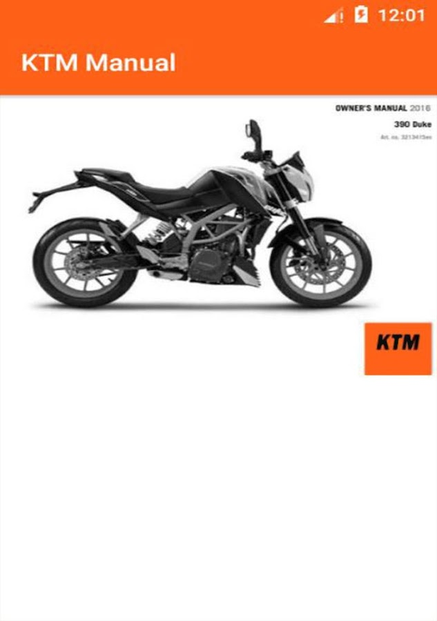 KTM Service Manuals for every KTM motorcycle