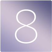 카카오톡테마 - 심플, iOS8B 4.3.0