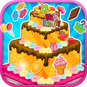 Birthday cake decoration 4