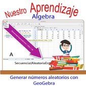 Generar números aleatorios con GeoGebra version04