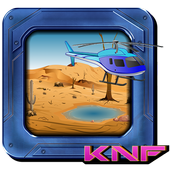 Knf Escape From desert using helicopter 1.0.0