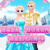 Elsas Queenn Wedding - Dress up games for girls 1.0