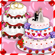 Rose Wedding Cake Maker Games 5.7