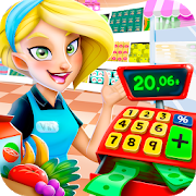 Supermarket Manager: Cashier Simulator Kids Games