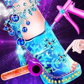 Queen Diamond Shoes SalonyuangamesappCasual