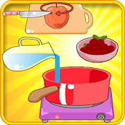 Cake peach : Cooking Games