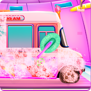 Girly Ice Cream Truck Car Wash 1.0.3