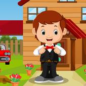 Handsome Waiter Boy Rescue Best Escape Game-385 1.0.0