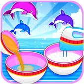 Delicious Art Dolphin CakeLoovy GamesCasual