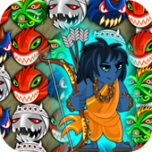 Rama's Quest - Match 3 Battle