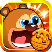 Cute Bear Wants Honey