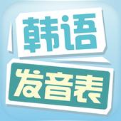 韩语发音表 1.1