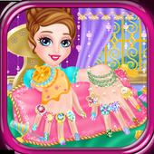 Nail design princess games