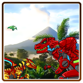 Dino Robot FinderTheFlash&FirstFoxPuzzle