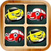 Car memory games pictures for kids and adults 1.2.2