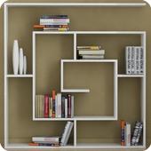 Book Shelves diy 1.0