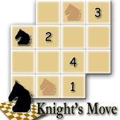 Chess Puzzle - Knight's Move 1.2