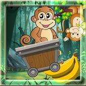 Monkey Cart Jungle Run 1.0