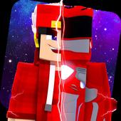 Skins Power Ranger