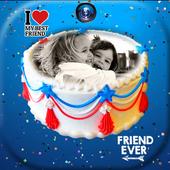 Photo On Friendship Day Cake 1.0