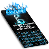 Blue Flame Keyboard