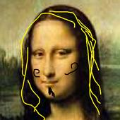 Paint Mona LisaPrevail App StudioCasual