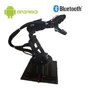 Robotic Arm Bluetooth Arduino