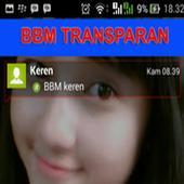 BBM Transparan Terbaru 2016 1.0