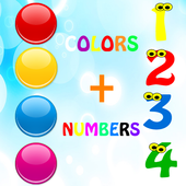 Learn colors numbers ad free 3