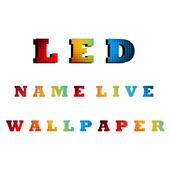 LED name livewallpaper 1.0