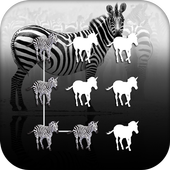 AppLock Theme Zebra 1.0