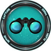 Binoculars with Zoom & Flash 1.0.9