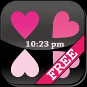 [Free]Heart Flow! Custom Clock 1.15