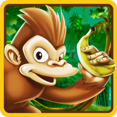 Monkey Jungle Bananas Run 2.0